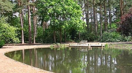 Creration Of A Large Garden Pond